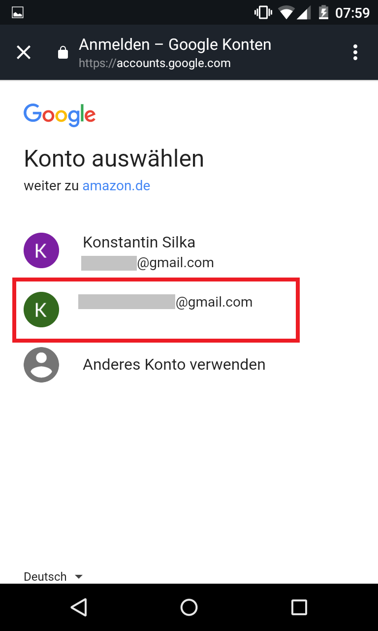 Schritt 5: Alexa Kalender mit Google verknüpfen