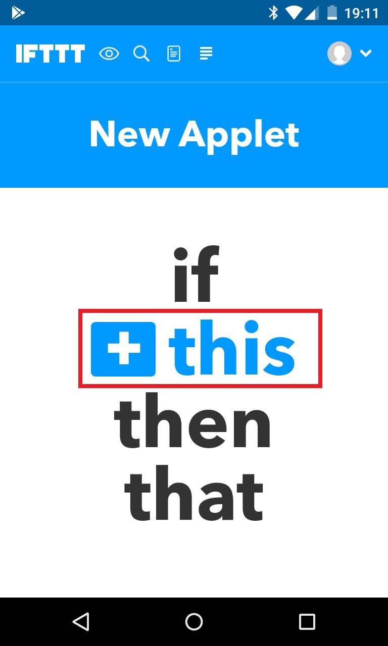 Schritt 2: Alexa IFTTT Applet erstellen