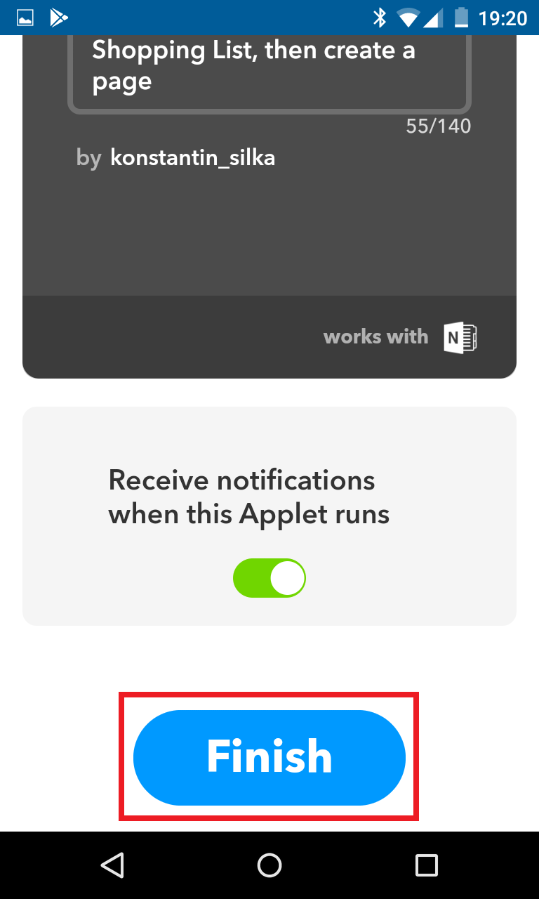 Schritt 9: Alexa IFTTT Applet erstellen