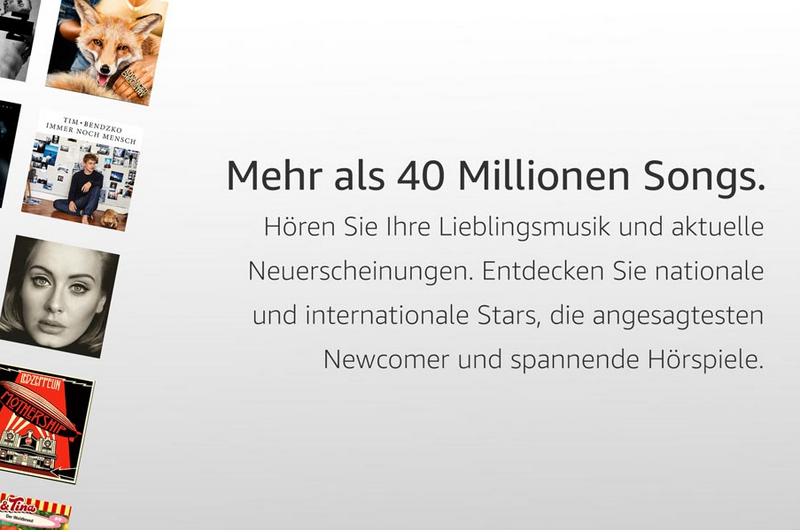 4 Monate Amazon Music Unlimited für 0,99€