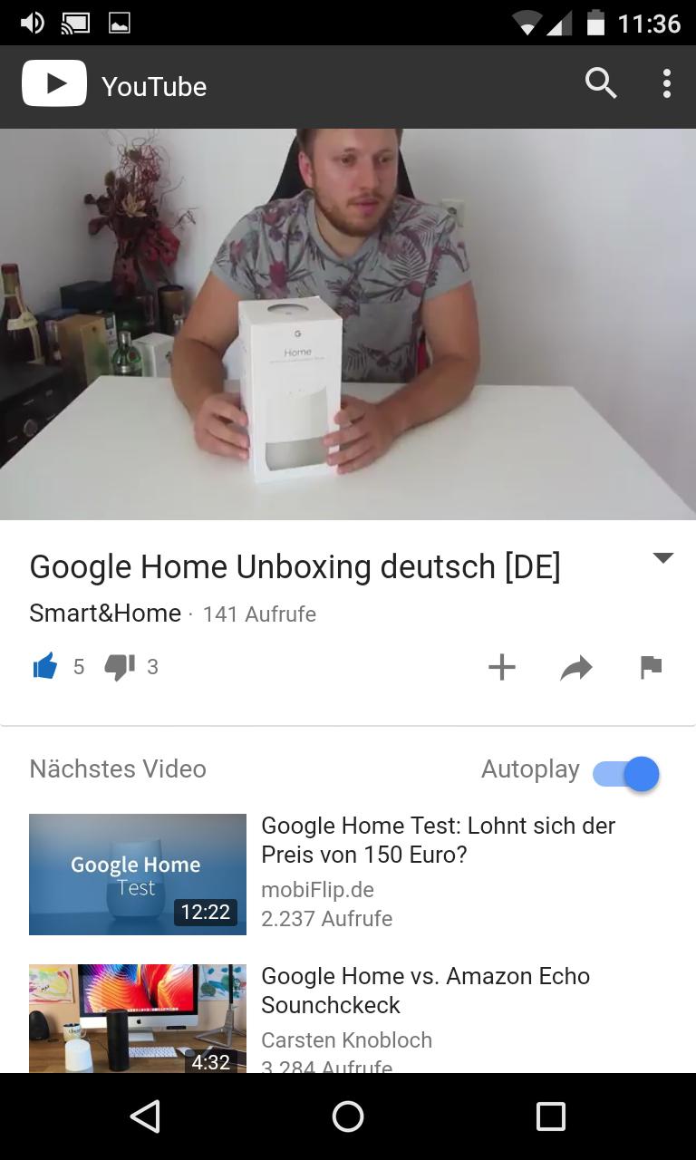 Schritt 3: Audiostreaming auf Google Home