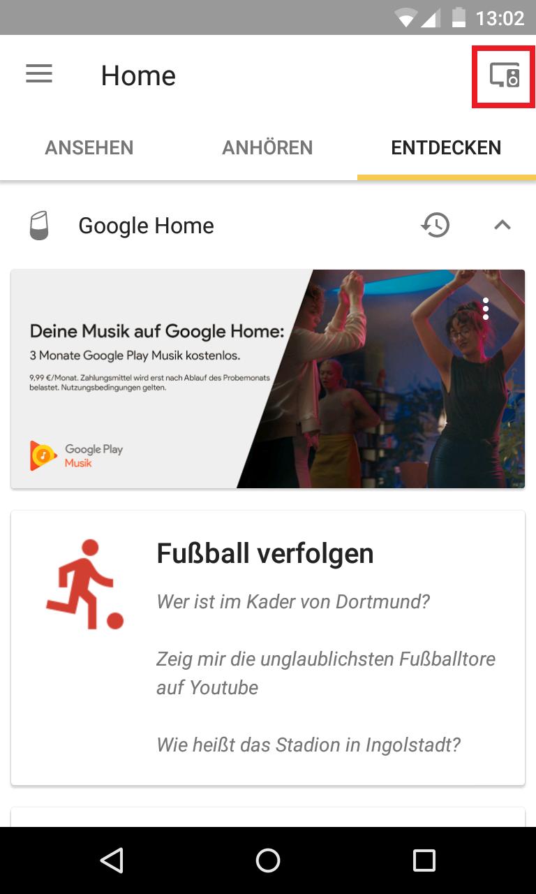 Schritt 1: Google Home Vorschauprogramm aktivieren