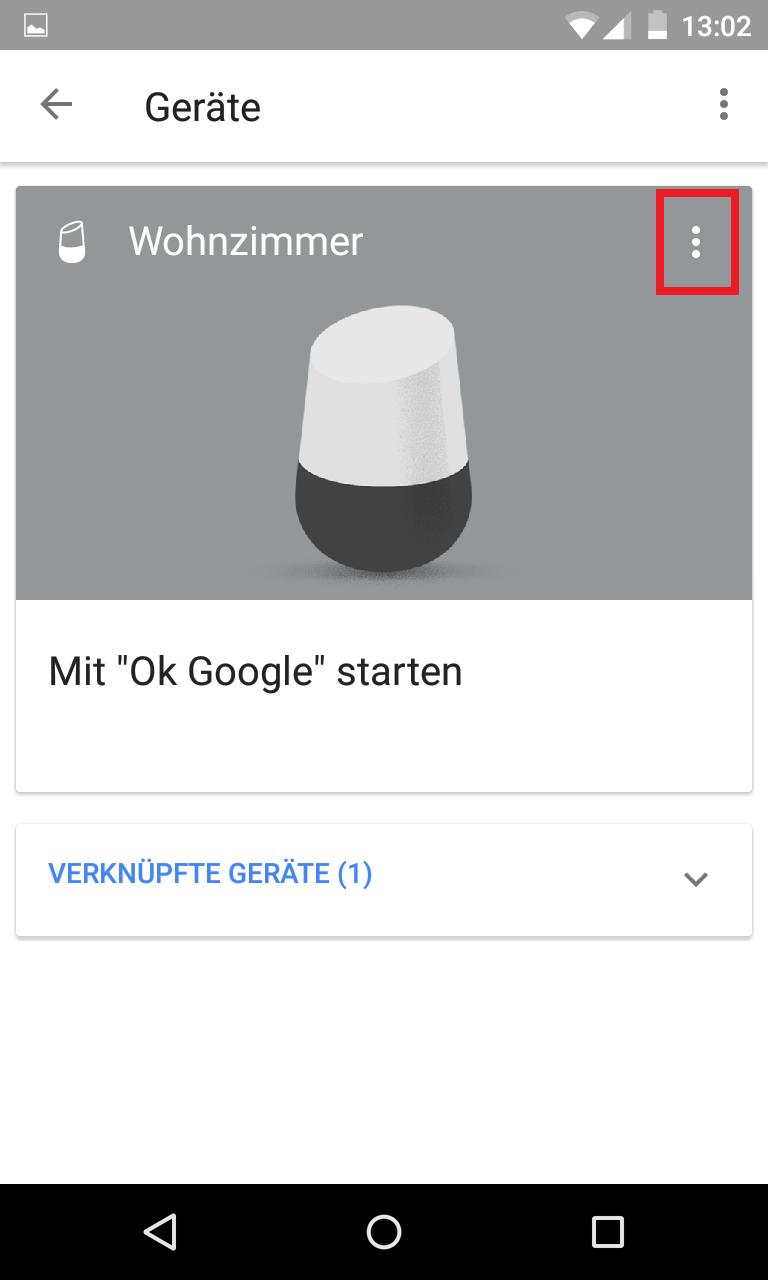 Schritt 2: Google Home Vorschauprogramm aktivieren