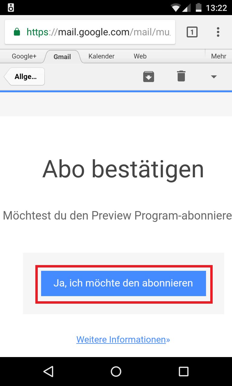 Schritt 6: Google Home Vorschauprogramm aktivieren