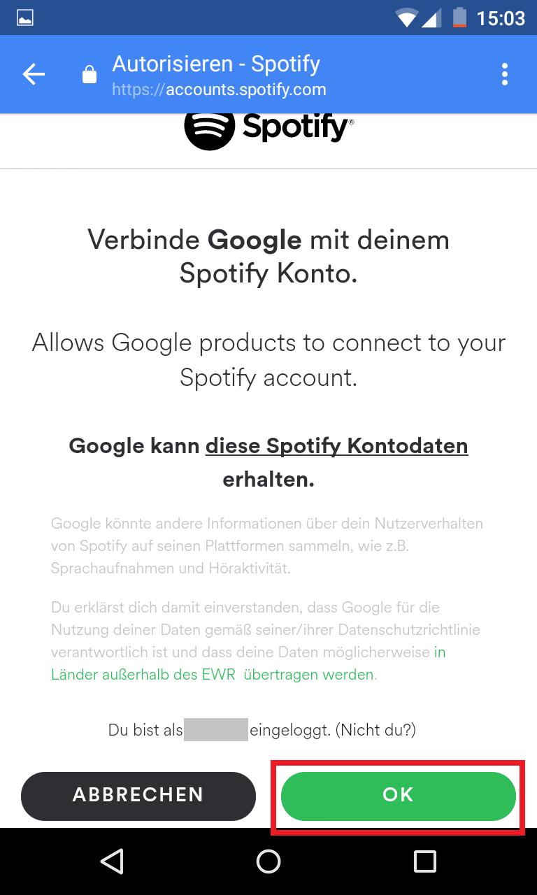 Schritt 19: Google Home einrichten