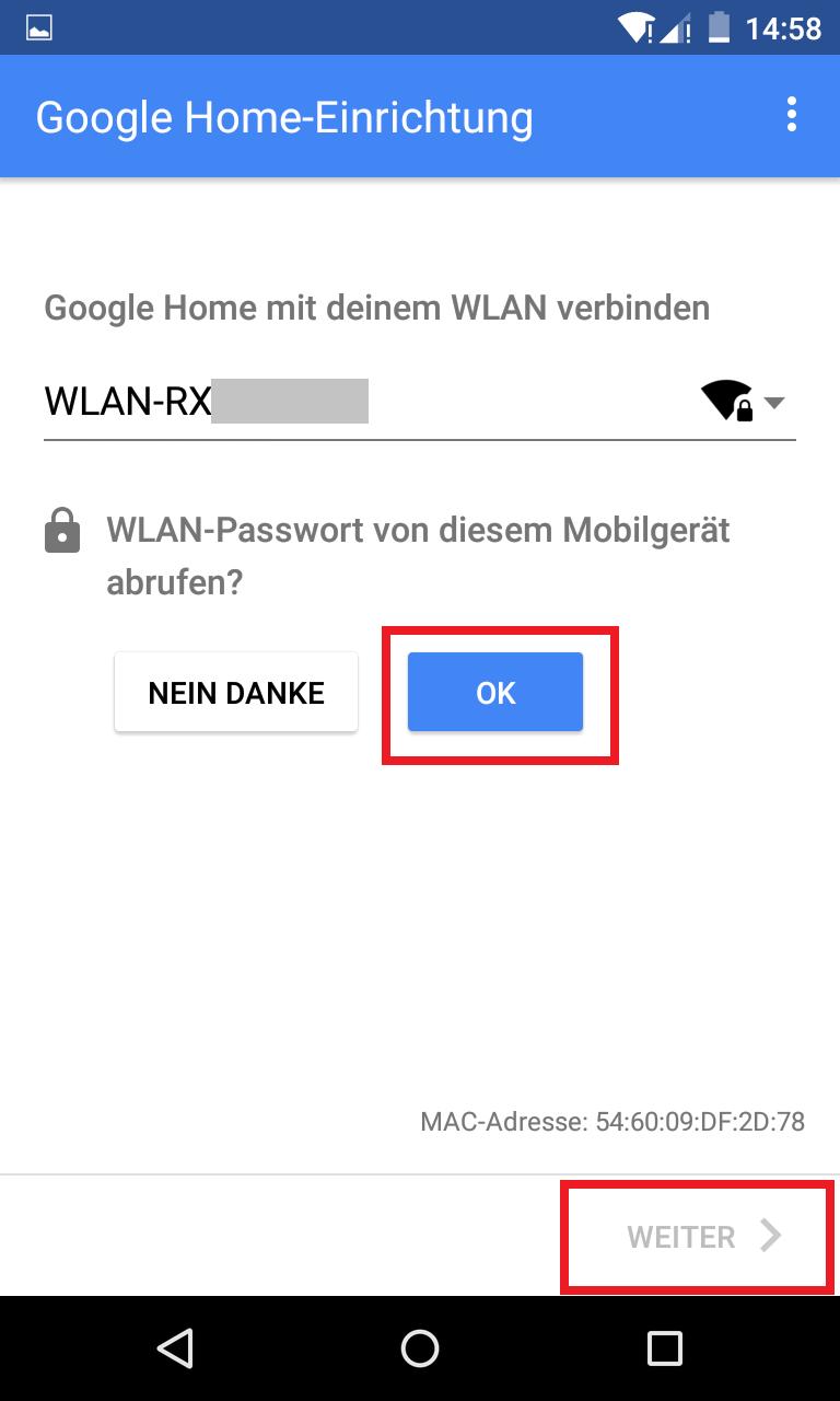 Schritt 7: Google Home einrichten