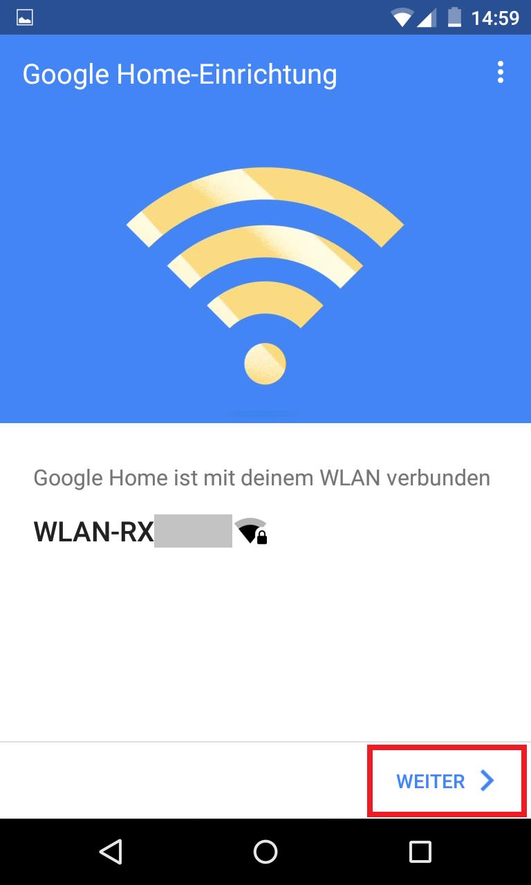 Schritt 8: Google Home einrichten