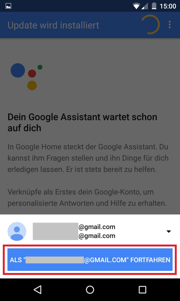 Schritt 10: Google Home einrichten