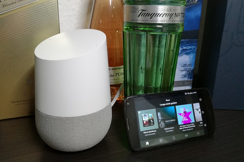 Google Home: Spotify Free wird unterstützt