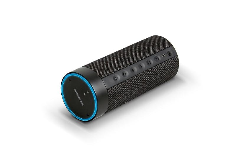 Medion stellt smarten Lautsprecher (P61110) vor