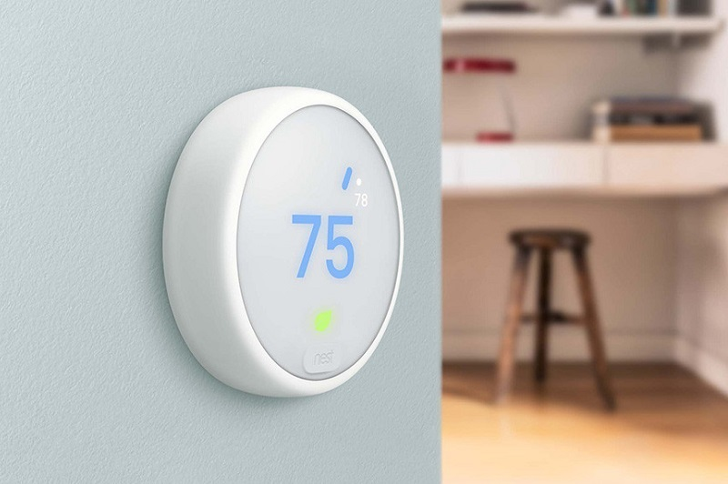 nest stellt thermostat e vor smarthome magazin. Black Bedroom Furniture Sets. Home Design Ideas