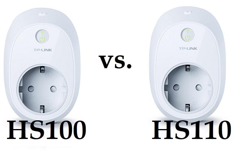 TP-Link HS100 vs. HS110