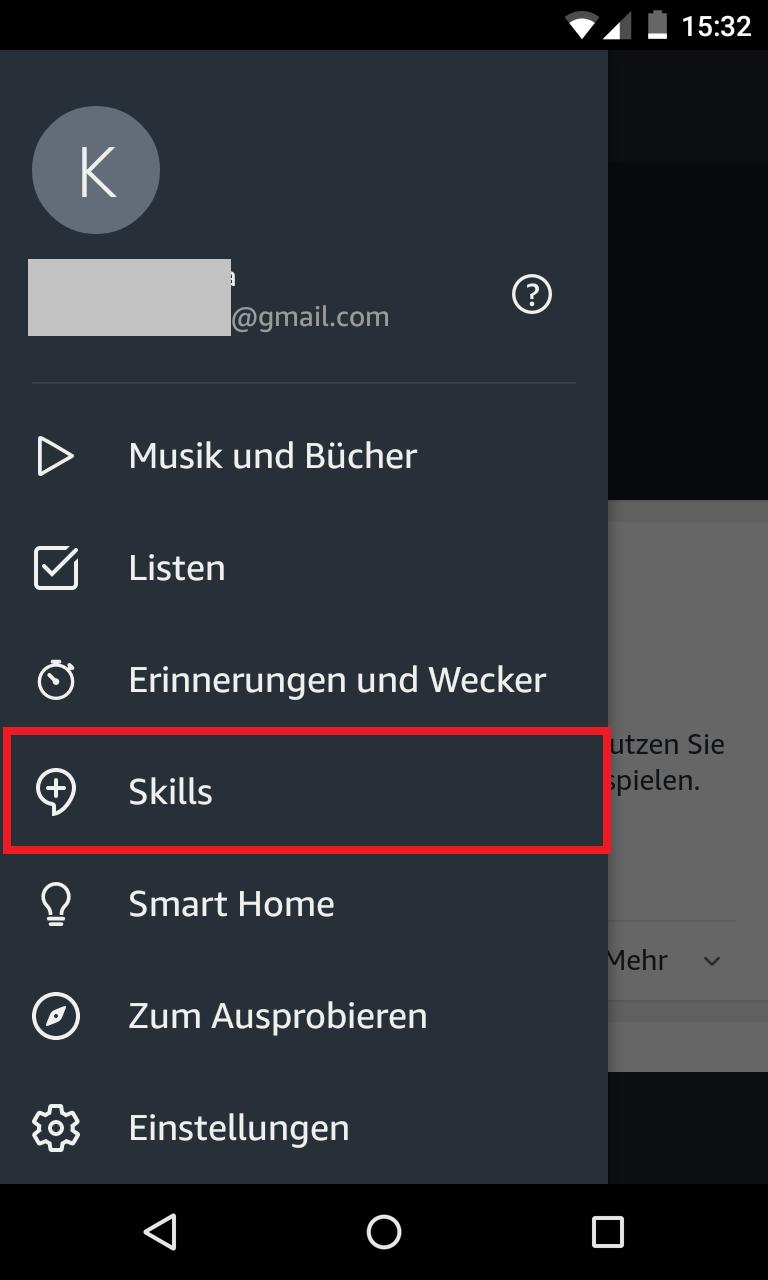 Schritt 1: Alexa mit TP-Link verbinden