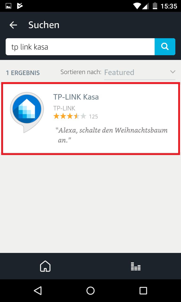 Schritt 3: Alexa mit TP-Link verbinden