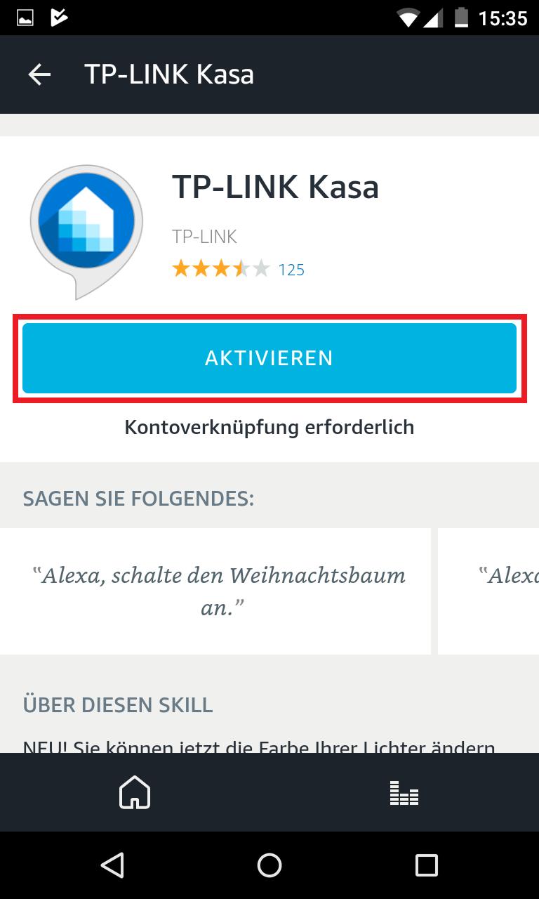 Schritt 4: Alexa mit TP-Link verbinden