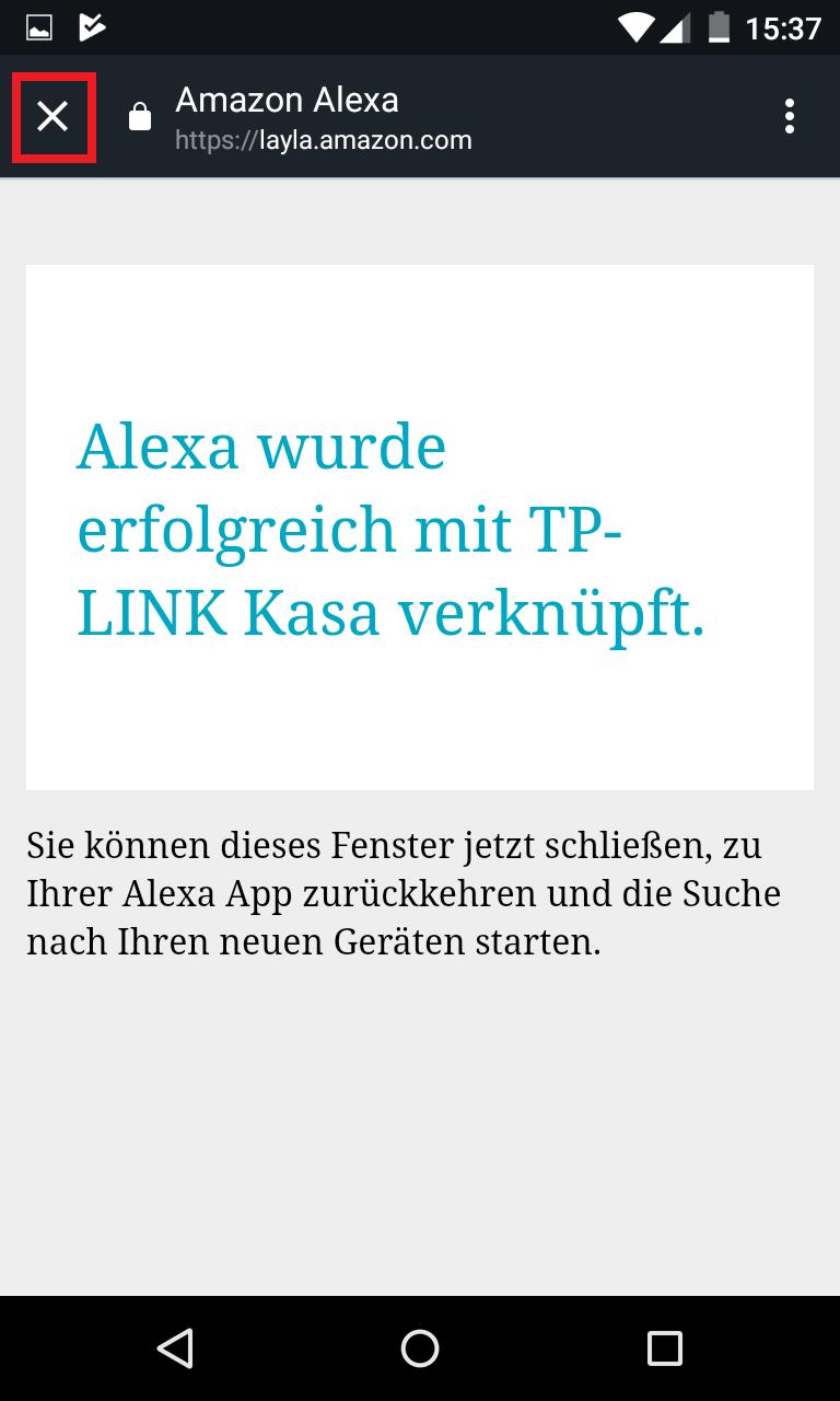 Schritt 6: Alexa mit TP-Link verbinden