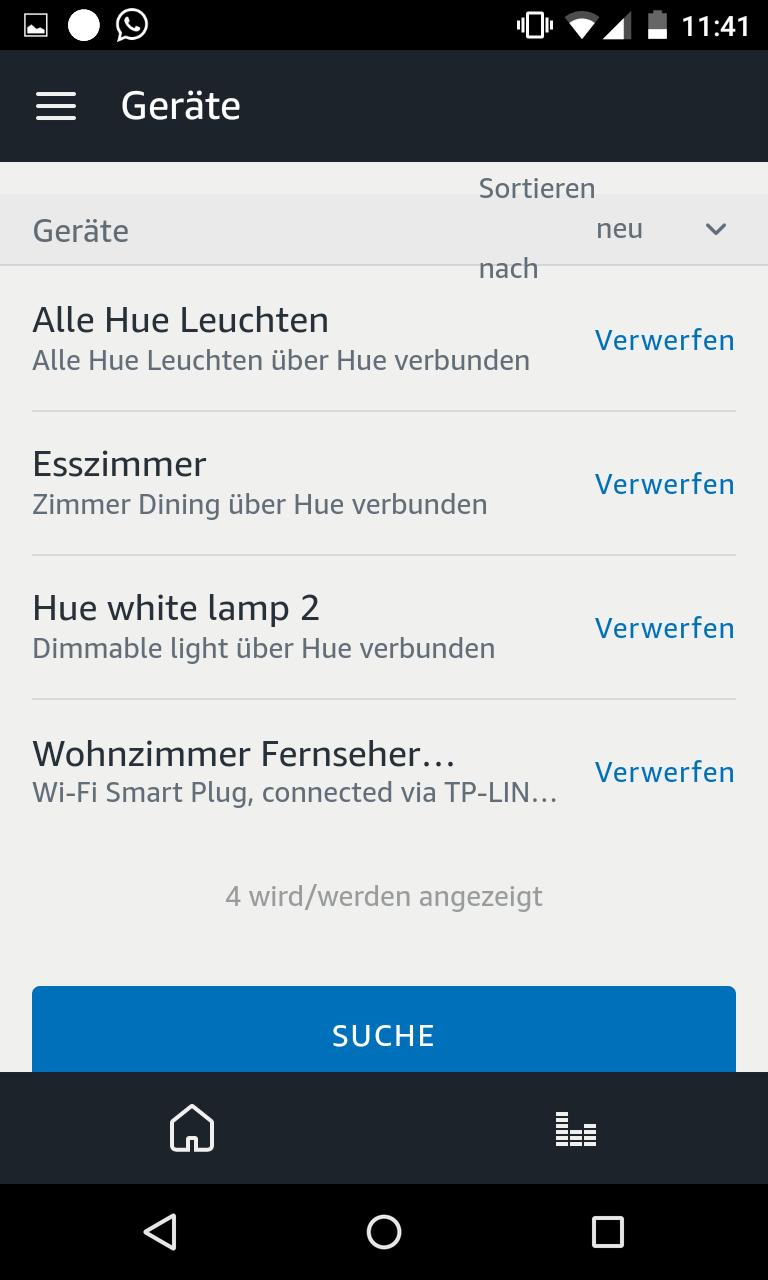 Schritt 9: Philips Hue mit Alexa verbinden