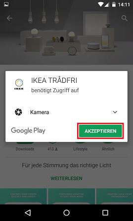Schritt 2: Ikea Trådfri einrichten
