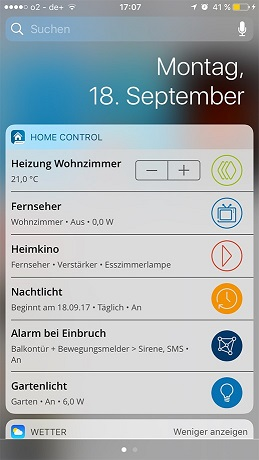 Devolo Smart Home Controll App iOS