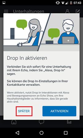 Schritt 7: Alexa telefonieren