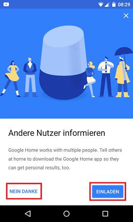Schritt 9: Google Assistant: Multi-User-Unterstützung