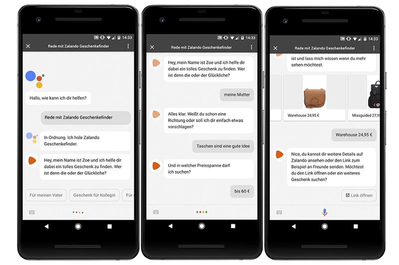 Google Assistant: Actions auch hierzulande verfügbar