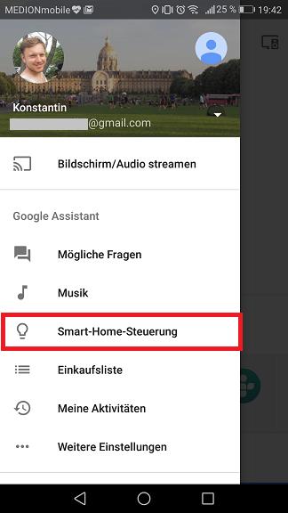 Schritt 1: Sonoff mit dem Google Assistant verbinden