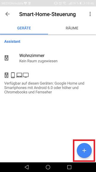 Schritt 2: Sonoff mit dem Google Assistant verbinden