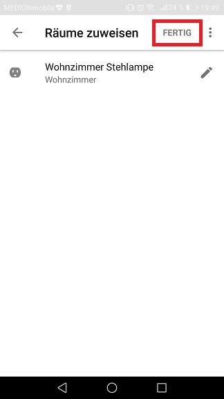 Schritt 7: Sonoff mit dem Google Assistant verbinden