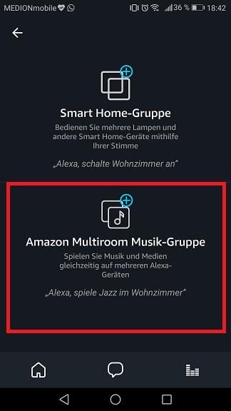Schritt 4: Alexa Multiroom einrichten