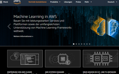 Deep-Learning-basierte Videoerkennung mit Amazon Rekognition Video