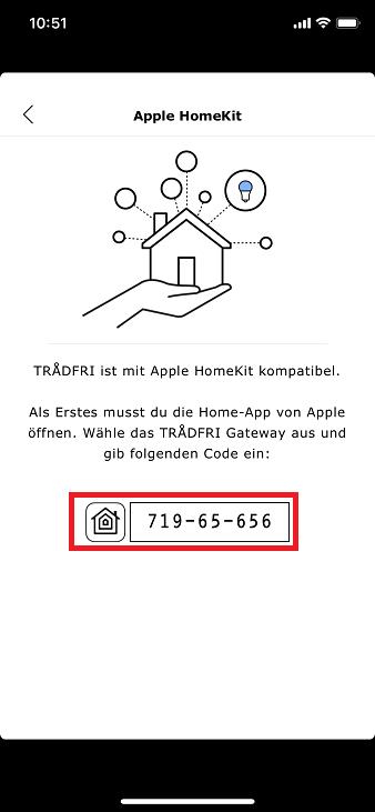 Schritt 5: Ikea Trådfri HomeKit