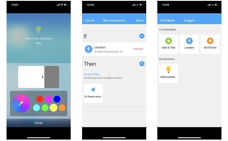 Koogeek LB1 App: Funktionsumfang