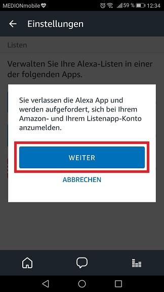 Schritt 4: Todoist mit Alexa verbinden