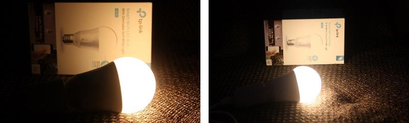 TP-Link LB100 Lampe Leuchtkraft