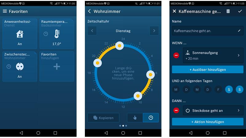 Bosch Smart Home Zwischenstecker - App
