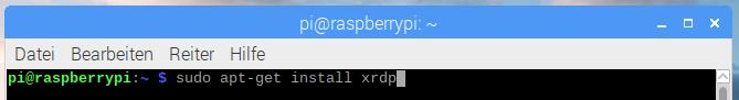 Raspberry Pi via Remote-Desktop (XRDP) fernsteuern - XRDP Server installieren