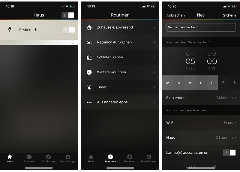 Philips Hue Starterset White E27 App