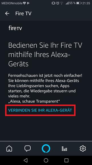 Schritt 3: Alexa Fire TV steuern