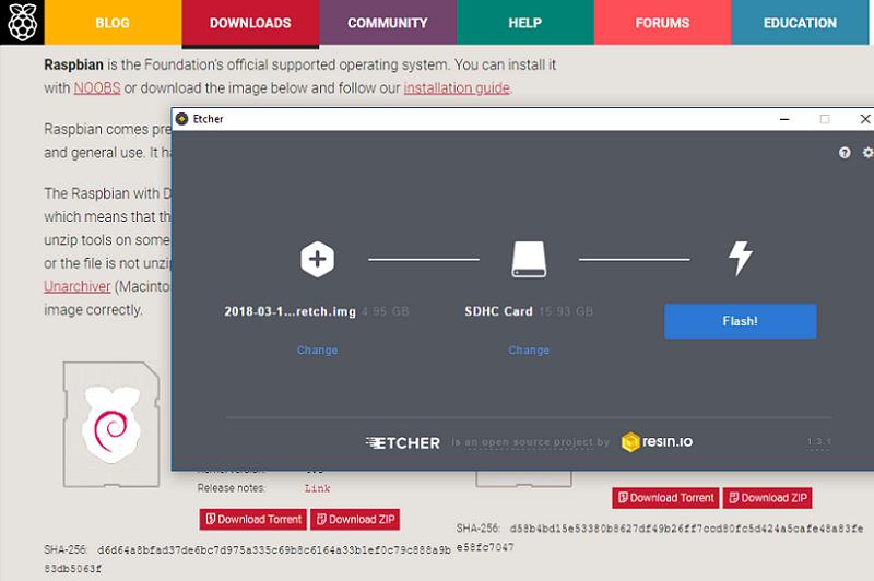 Raspberry Pi Betriebssystem installieren